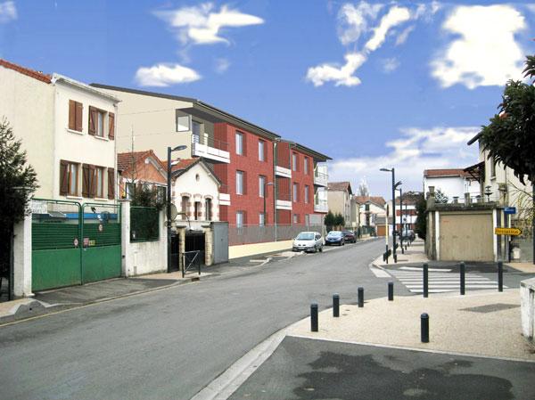 Logements à Romainville