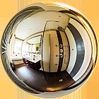 Visite virtuelle 360° d'une salle de bain rénovée par Bâti LP