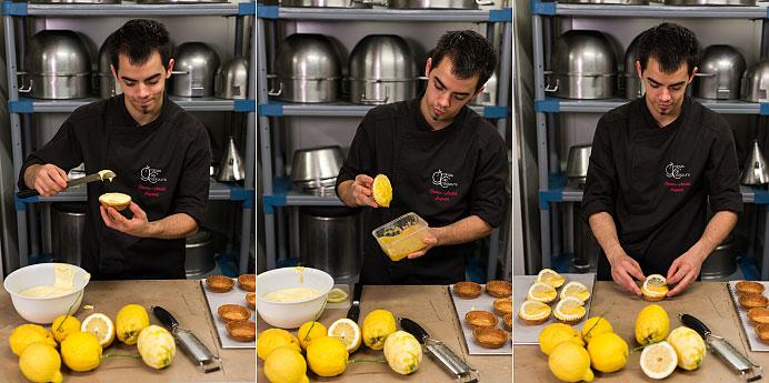 Réalisation de la tarte aux Citrons de Sorrento par Pierre André Segura