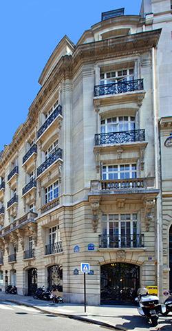 Cabinet de dermatologie avenue Hoche Paris