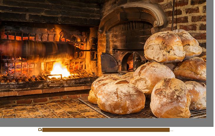 Cochon grillé et pain cuits à la ferme du bout des prés