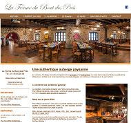 Création graphique du site internet et reportage photo La Ferme du Bout des Prés à Cernay en vallée de Chevreuse