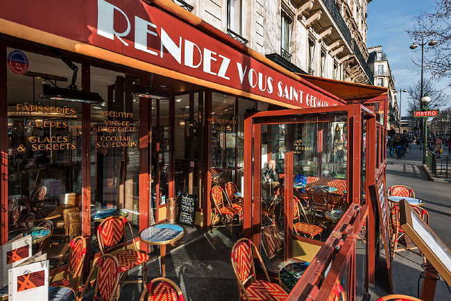 Reportage photos du restaurant Rendez-vous Saint Germain à Paris