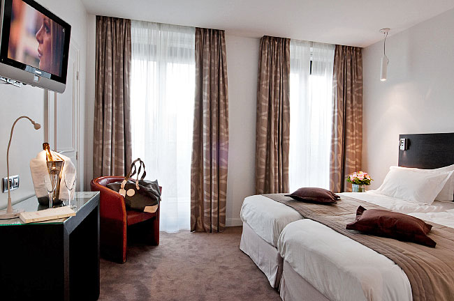 Panoramica a réalisé le reportage photo Hôtel Devillas à Paris