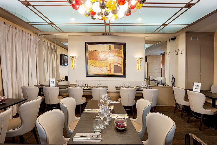 Panoramica a réalisé le reportage photo du Fleurus Café à Paris