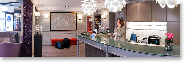 Solutions de communication pour les HOTELS, photo et site web