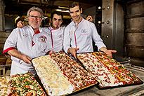 La Pizza in Teglia des Créateurs