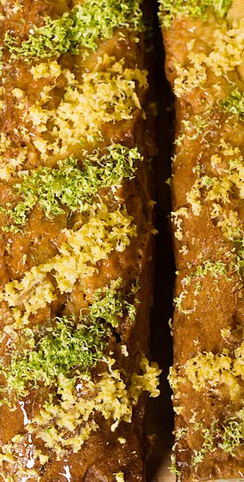 Cake au citron artisanal