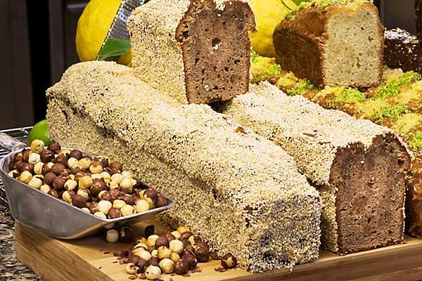 Cake pralines artisanal