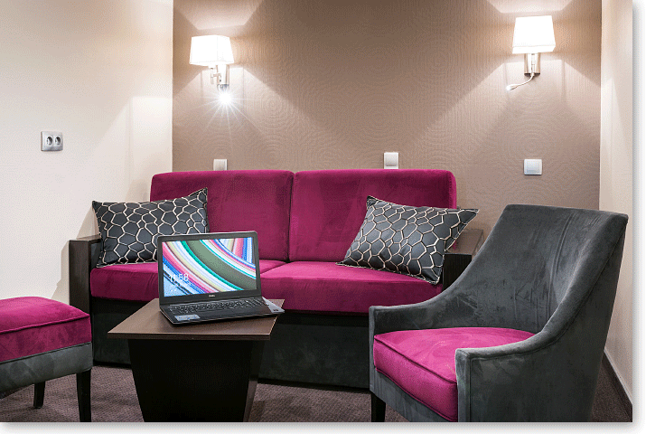 Suite Deluxe room Hotel Vivienne Opera Paris