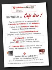 Café décoration à Bry sur Marne (94)
