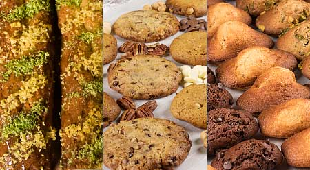 Fabrication artisanale de Cakes, Madeleines, Cookies